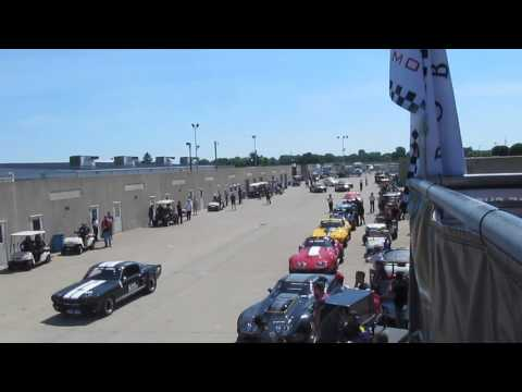 2017 Brickyard Vintage Racing Invitational - SVRA, Indianapolis - Group 6 Race Grid