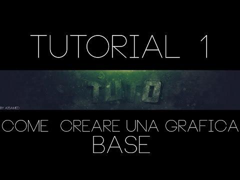 COME DIVENTARE UN GFX(GRAFICO) TUTORIAL 1!:  BG BASE!