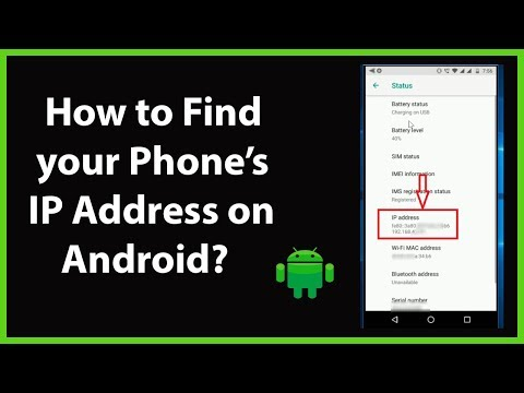 How To Find Your Phone's IP Address On Android?