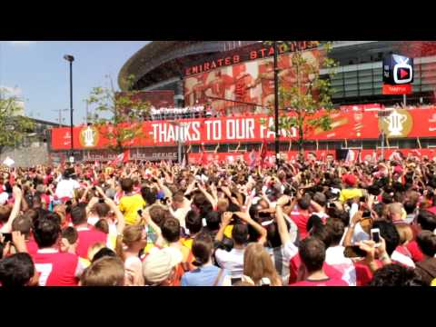 FA Cup Victory Parade - Home Coming At The Emirates
