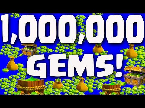 Clash of Clans  ♦ ONE MILLION GEMS! ♦