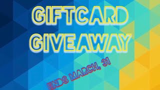 Steam, Xbox live, Roblox, Giftcard Giveaway! (ENDED)