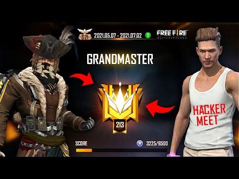 HACKER? GRANDMASTER Push Complete in 19 Hours Must Watch Gameplay - Garena Free Fire