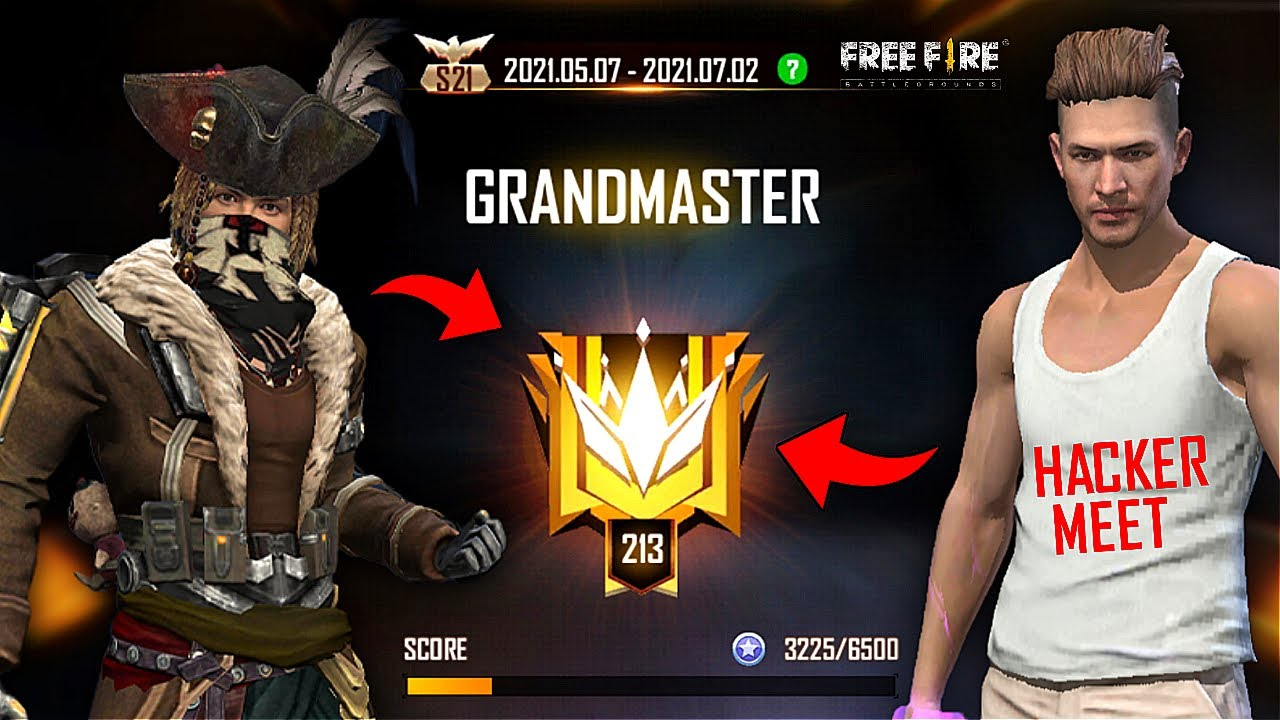 HACKER? GRANDMASTER Push Complete in 19 Hours Must Watch Gameplay - Garena Free Fire