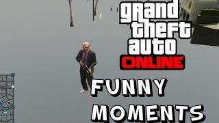 GTA V FUNNY MOMENTS | TELEPORTING, HUGE GLITCHES, TACO VANS AND ROBBERIES!
