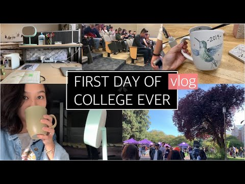 First Day Of College Ever!   Freshman @ The University Of Washington