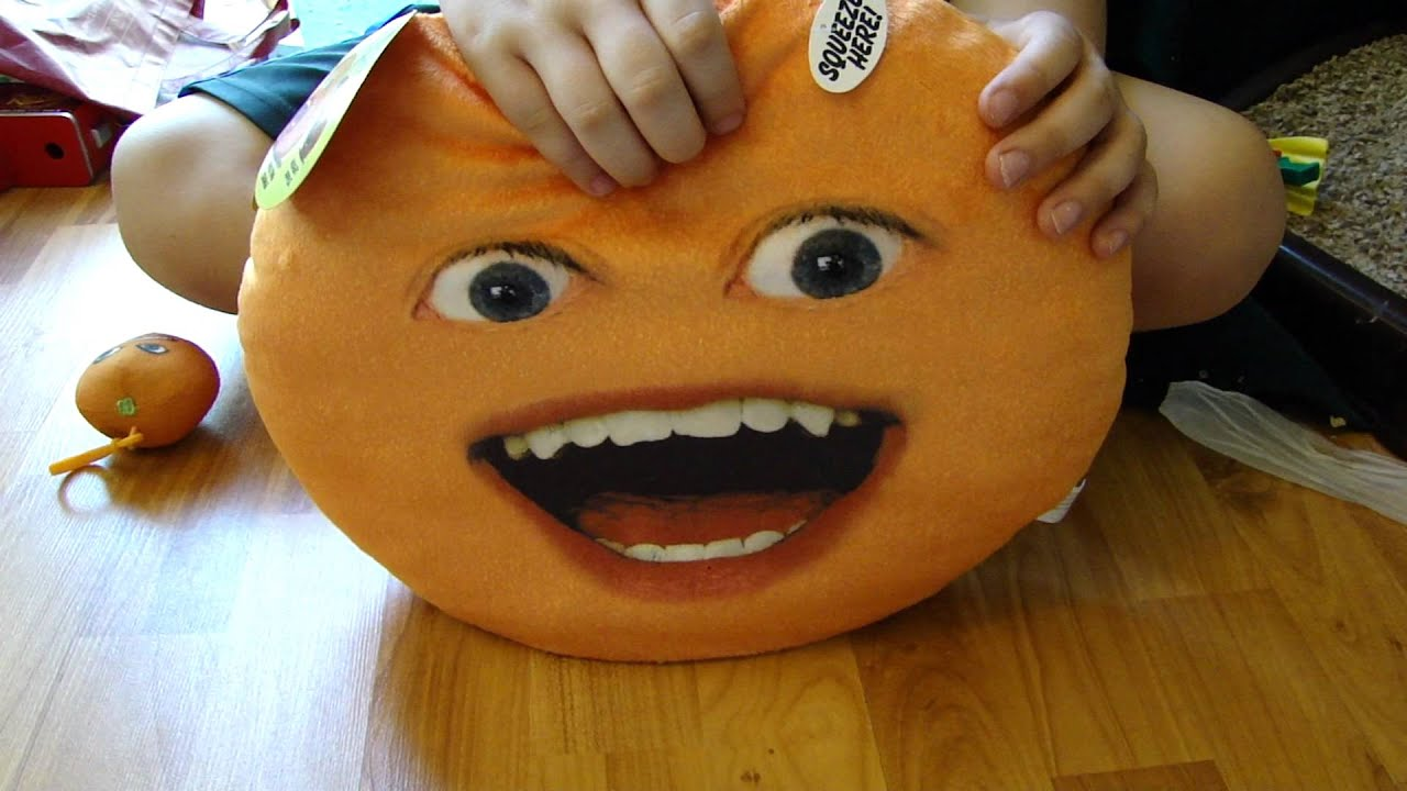 annoying orange talking playface pillow by spiderman jerry youtube
