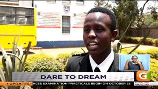Daniel Shirima like any typical teenage boy loves his food. But his...