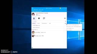 Create a Group in Skype for Business