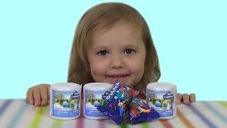 Смурфики машемс Стикиз рапаковка сюрпризов игрушек unboxing surprises Smurfs Stikiz with toys