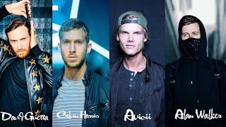 Download Alan Walker, Avicii, David Guetta, Calvin Harris Top Mix   Best Edm Songs