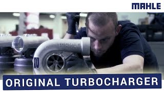 MAHLE Original Turbocharger - Production Quality without Compromises!