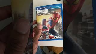PS Vita Collecting: Rare Ported Spider-Man Game!