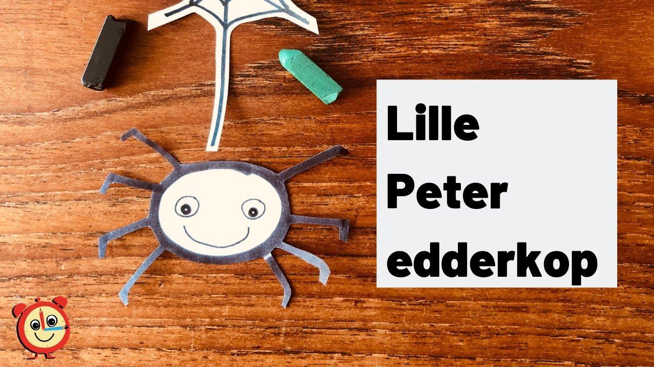 Lille Peter edderkop I Danske børnesange med tegninger I Magiske Minutter