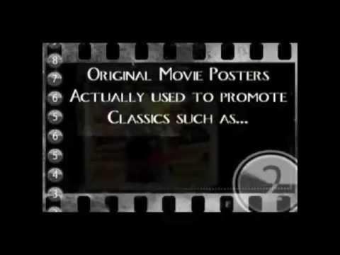 CV Treasures original vintage movie poster collectors