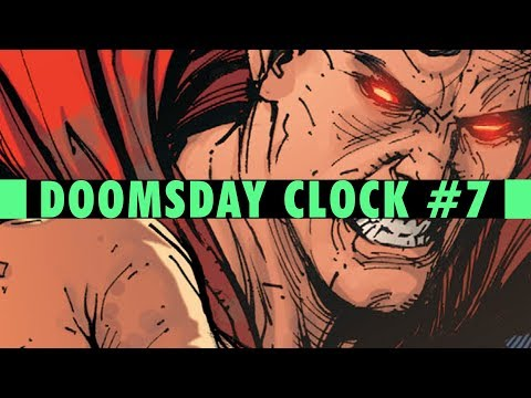 The Blind Spot| Doomsday Clock #7 Review (HUGE SPOILERS)