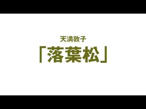 「落葉松」 ヴァイオリニスト 天満敦子