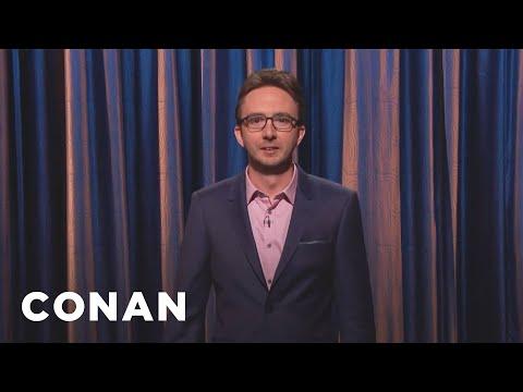 Joe List Stand-Up 05/04/17  - CONAN on TBS