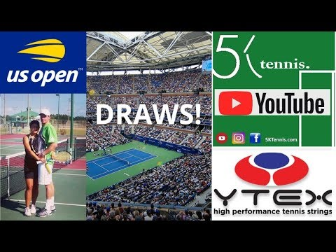 US OPEN 2019 Tennis Men's & Women's Draw Discussion. Predictions & PRIZE GIVEAWAY Rules.