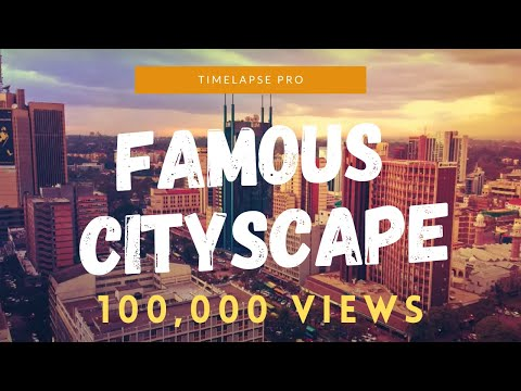 [1 HOUR] Relax Music - THE MOST FAMOUS CITYSCAPE TIME-LAPSE - AROUND THE WORLD (FULL HD)