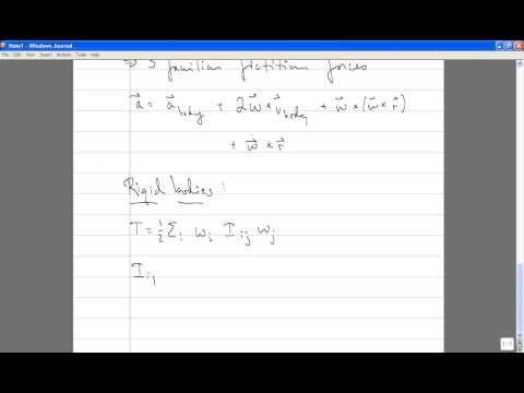 Classical Mechanics, Lecture 24: Review.