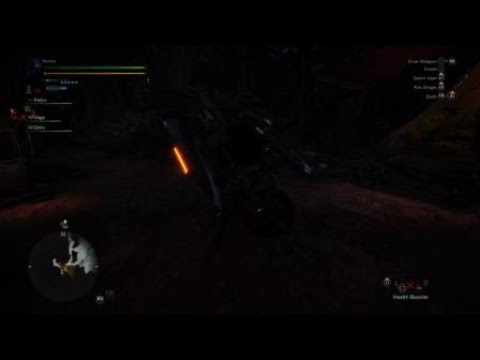 Monster Hunter: World Beta Firebreath from the Top Rope