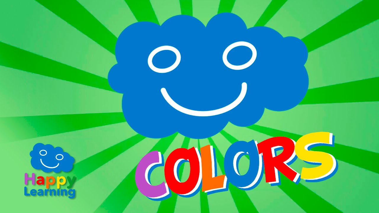 Colors for Children. Learn the Colors in English and Spanish - YouTube