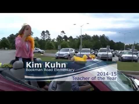 Bookman Road Elementary School 2014-15 Teacher of the Year Parade