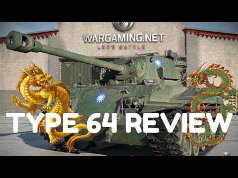 World of Tanks - Type 64 Chinese Tier 6 Premium Light Tank Review - Best Tier 6?