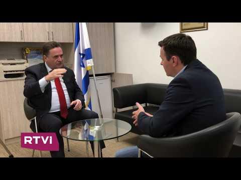 «Израиль ответит жестко на обстрелы из сектора Газа» — министр Исраэль Кац в интервью RTVI