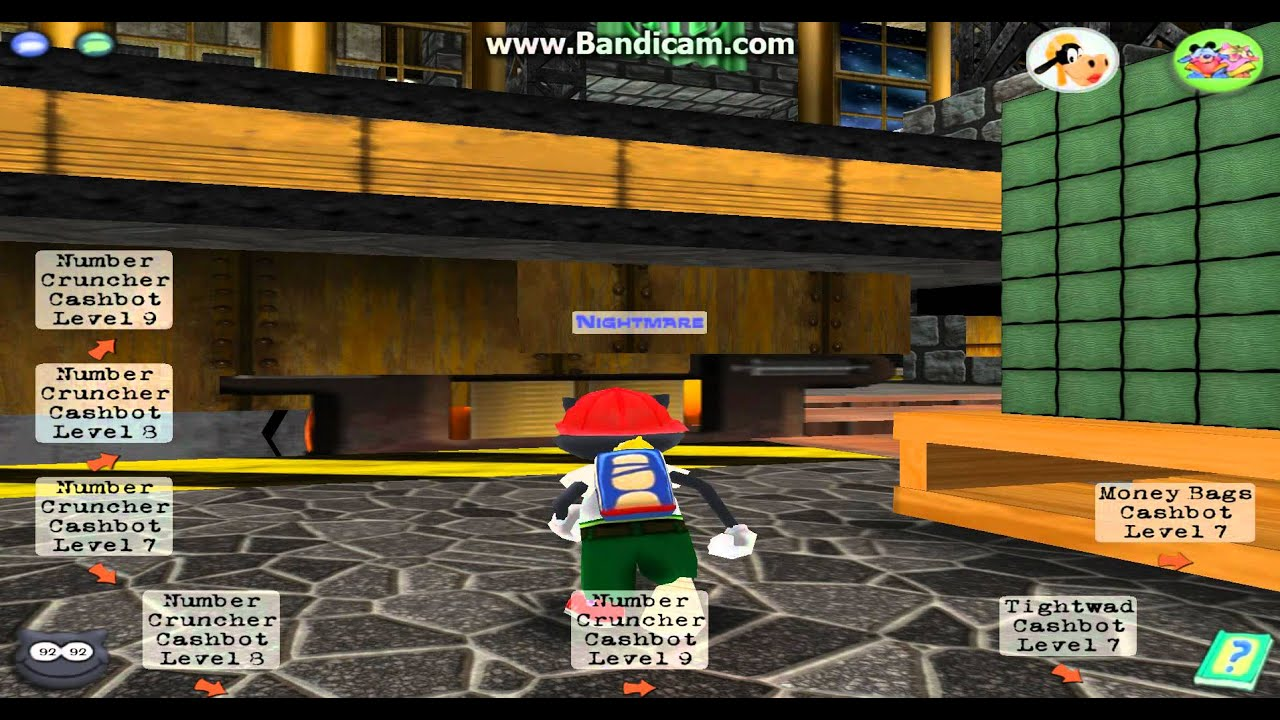 Toontown - Nightmare Completes a Front Three(1) - YouTube Gaming