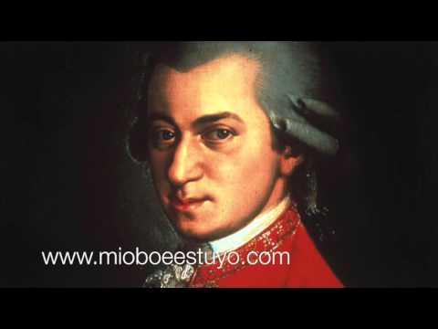 Concierto para oboe de Mozart MINUS ONE RONDEAU  ( karaoke )