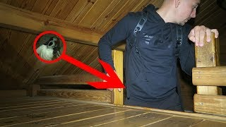**Incredibly Scary** OVERNIGHT IN USA's MOST HAUNTED CABIN! Part 1