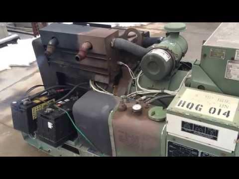 NEW NOS Onan MEP 0003A 10KW Military Diesel Generator  Runs