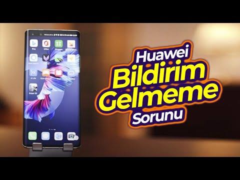 Huawei Bildirim Gelmeme Sorunu /  Push Notification