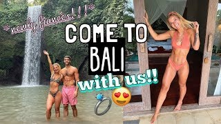 BALI VLOG WITH MY FIANCÉ!!! COUPLE'S HOLIDAY