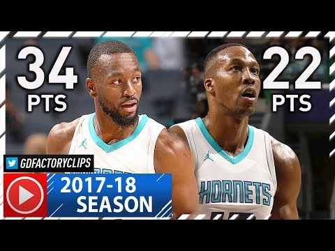 Kemba Walker & Dwight Howard Full Highlights vs Magic (2017.10.29) - 56 Pts Total!