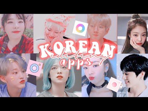 korean editing apps (2019) || rnnpnd