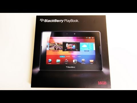 BlackBerry Playbook Unboxing