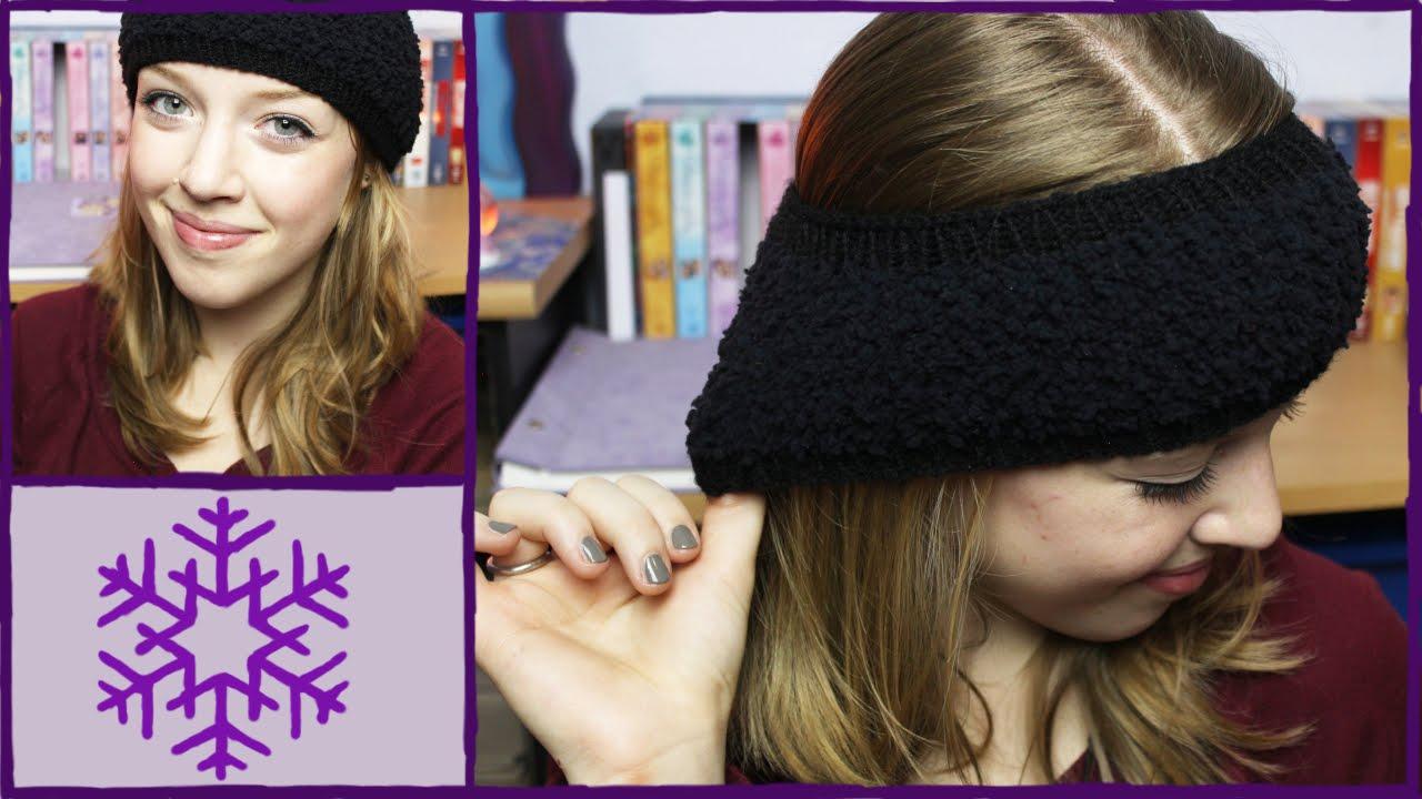 DIY Stirnband stricken   Selfmade Sunday   Winterproblems - YouTube