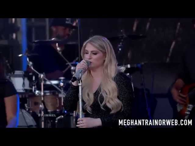 Meghan Trainor performs 'Like I'm Gonna Lose You' on Jimmy Kimmel Live!
