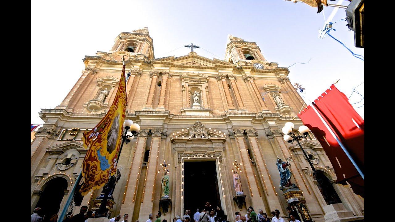 Sacro Cuor Church, Sliema, Malta - YouTube