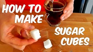 How To Make SUGAR CUBES At Home