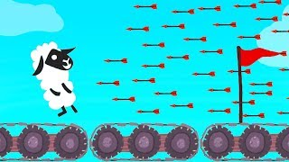 WORLD'S HARDEST MOVING PLATFORM LEVEL! (Ultimate Chicken Horse)