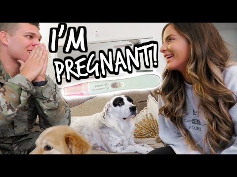 IM PREGNANT! FINDING OUT AND TELLING MY HUSBAND! *EMOTIONAL*  | Casey Holmes Vlogs