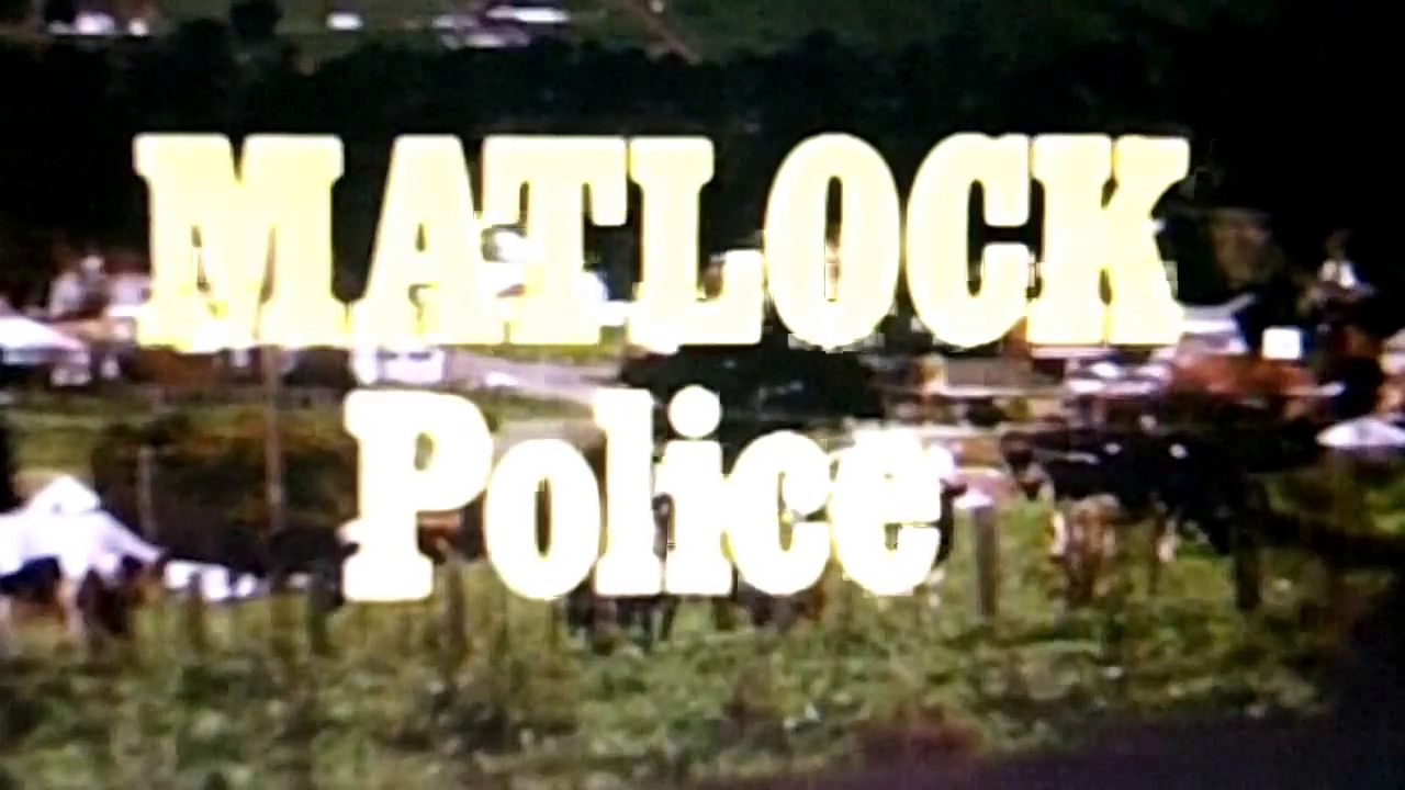 ''Matlock Police'' - Opening theme & end theme.