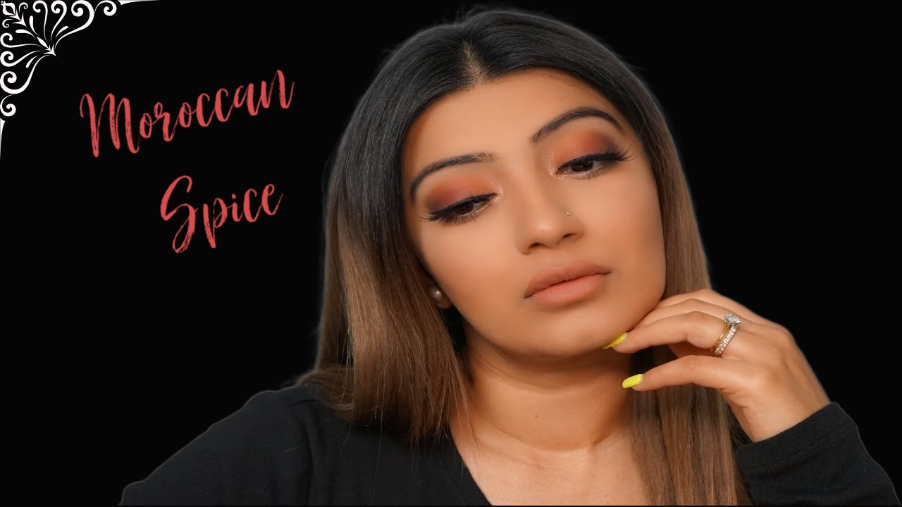 *Fenty Beauty* Moroccan Spice Palette Indian Bridal Inspired look