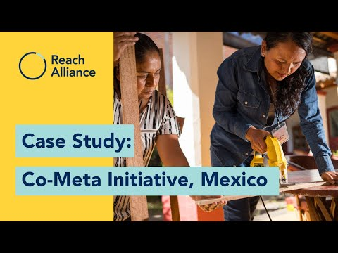 Reach Alliance Case Study: How does Co-Meta support women's economic empowerment in Mexico?