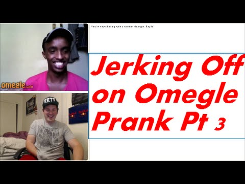 Omegle jerking off
