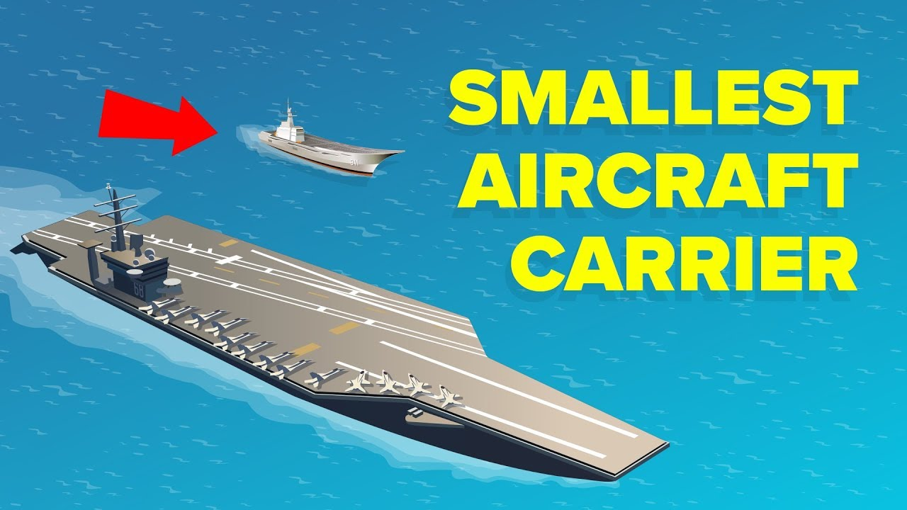 Smallest Aircraft Carrier In The World: HTMS Chakri Naruebet